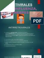 ANTIVIRALES, VIH, HERPES Y INFLUENZA