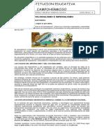 EL COLONIALISMO E IMPERIALISMO- CICLO 4- JUNIO 13