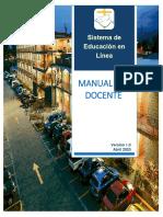 Plataforma Moodle 2020 - Manual