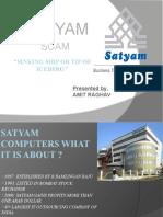 Satyam Scam Presentation