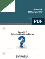 Cuarta sesión - DELIMITACIÓN DEL PROBLEMA - EMPATIZANDO