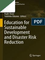 (Disaster Risk Reduction) Rajib Shaw, Yukihiko Oikawa (eds.) - Education for Sustainable Development and Disaster Risk Reduction-Springer Japan (2014)