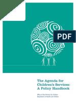 Agenda for children services