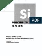 The Radio Chemistry of Silicon.us AEC