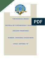 Semana 9 Analisis Financiero