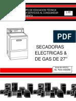 L-63 Secadoras Electricas y Gas (Español)