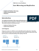 Implement Database Mirroring and Replication.pdf