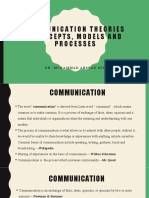 2. Week 2.1 - Communication Theories and Nurse - Patient Relationship