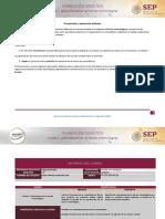 Planeación didática U1 . FECHAS DE ENTREGA DEFINITIVO