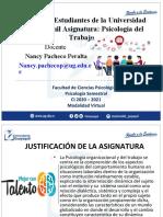 Resumen del curso Psicologia Organizacional I - Mgs Nancy Pacheco CI 2020-2021