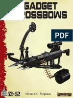 RGG - 52 in 52 - 06 Gadget Crossbows PF2