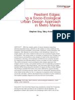 Exploring a Socio-Ecological Urban Design Approach