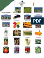 Imagier légumes