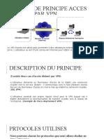 PRINCIPE ACCES DISTANT PAR VPN