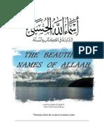 Established Beautiful Names of Allaah