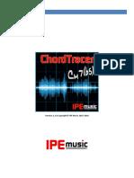 ChordTracer Manuel utilisateur