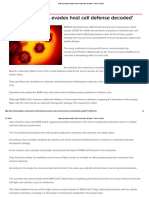 'How coronavirus evades host cell defense decoded.pdf