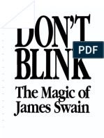 James Swain - Don't Blink