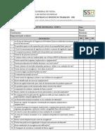 Checklist de Inspeção de Segurança - Fazendas