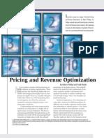 RMA Article Price Optimization
