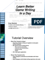 101_ LearnBetterGameWritinginaDay