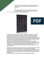 Informe Instalaciones Panel Solar
