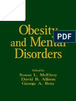 (Medical Psychiatry Series) Susan L. McElroy, David B. Allison, George A. Bray - Obesity and Mental Disorders-Informa Healthcare (2006).pdf