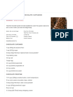 Best Homemade Chocolate Cupcake Recipe _ Moist & Fluffy Cupcakes