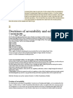 Doctrine of Severability