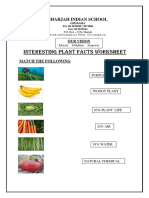 Interesting plant facts  worksheets (1) (1)