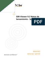 SSR-Viewer 9.2 Notas de Lanzamiento