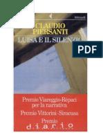Luisa e Il Silenzio - Claudio Piersanti