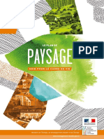 Brochure Plans de paysage