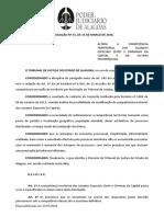 RESOLUÇÃO Nº 15-2016 - Altera a competência territorial dos Juizados especiais apmp 17.03