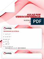 AULA FUNÇÃO EXPONENCIAL_MATEMÁTICA_3º ANOS