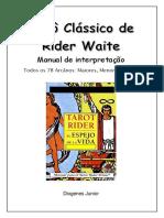 Tarot Classico de RW - Manual de Interpretação