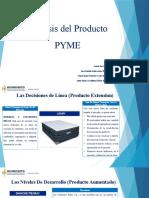 Actividad 8 -    Presentación Sobre Análisis Del Producto PYME - Grupo 8