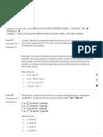 Examen EDO 1