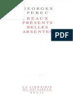 Georges Perec - Beaux présents belles absentes.pdf