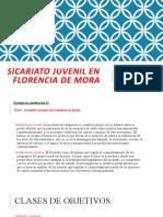 SICARIATO JUVENIL EN FLORENCIA DE MORA.odp