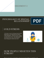 PSYCHOLOGY OF SPATIAL RELATIONSHIP