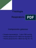 Fisiología respiratorio