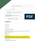 EXAMEN UNIDAD 1 DIRECCION DE PROYECTOS CLASE 1