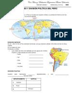 LIMITES Y DIVISION POLITICA DEL PERU,,,,,,,