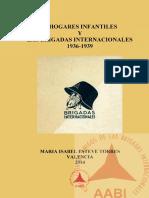 Los hogares infantiles y las Brigadas Internacionales, 1936-39