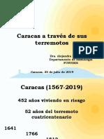 2019 Caracas a traves de terremotos