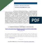 Fisco e Diritto - Corte Di Cassazione n 26313 2010