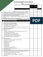 AM Tower Inspection sheet
