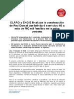 Red Dorsal CLARO y ENGIE VF