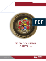 CARTILLA FE EN COLOMBIA